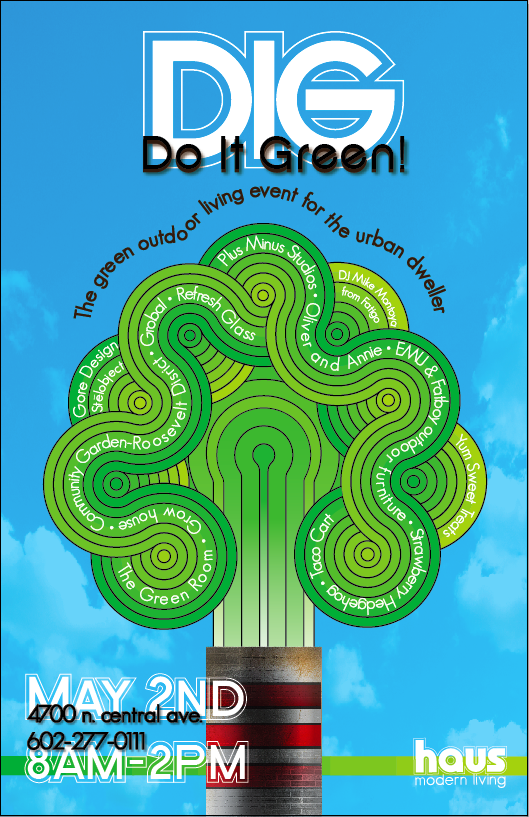 Do It Green Event May 2nd at Haus in downtown Phoenix